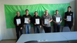 PhilippFeustel und Patrick Hauenstein, Sebastian Hager und Philipp Scharf, Marco Feustel und Philipp Schöniger