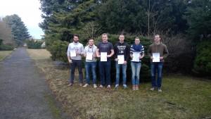 die Gewinner-Innen des Erstentscheides in der Sparte Landwirtschaft II von der FS Freiberg_zug