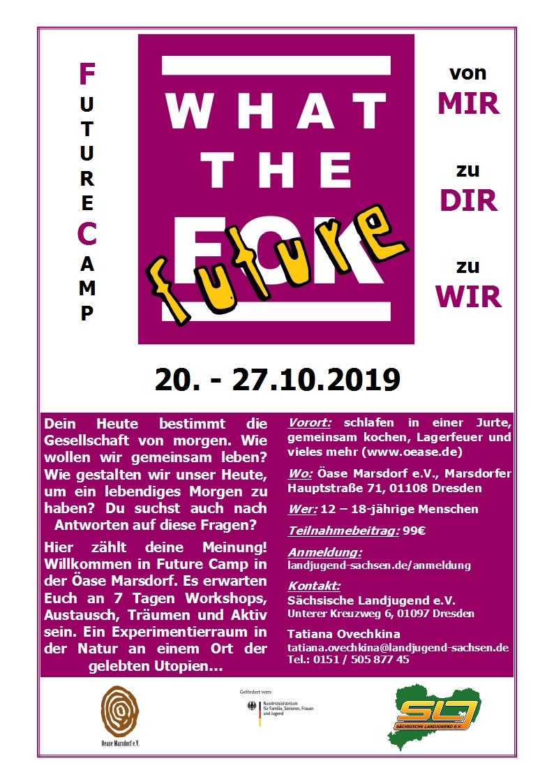 FutureCamp wtf! Marsdorf 2019